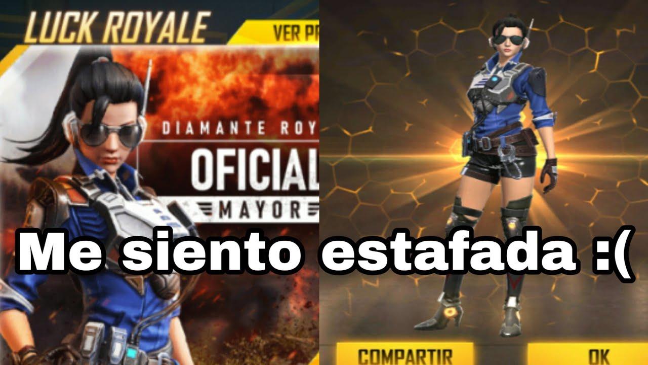 GIRANDO LUCK ROYALE DIAMANTE GRATIS - OFICIAL MAYOR || FREE FIRE