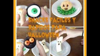 Snacks Fáciles para Halloween! DIY Thumbnail