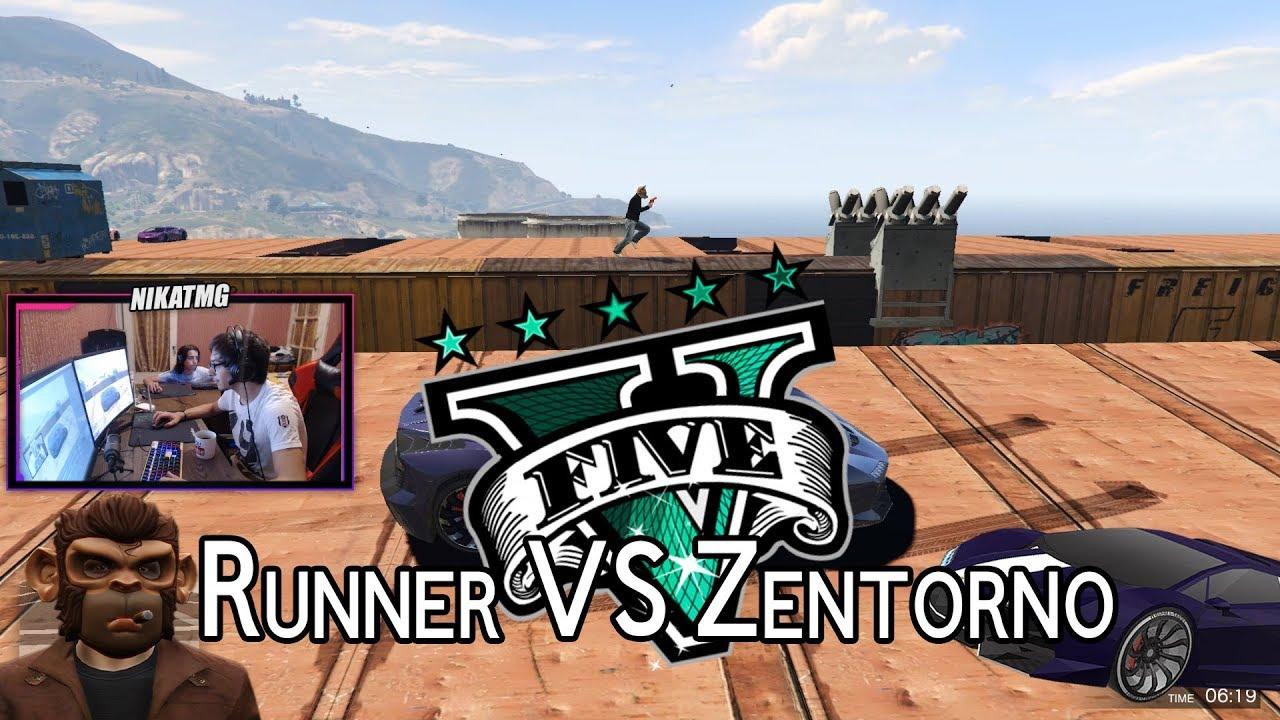 Runners VS. Zentorno   GTA V Online ქართულად