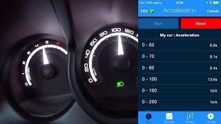 Lada Xray 1.8 AМТ - разгон до 100 км/ч в автоматическом режиме