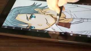 DAGi Stylus Pen P507 Asus transformer paint draw bruches sketch demo
