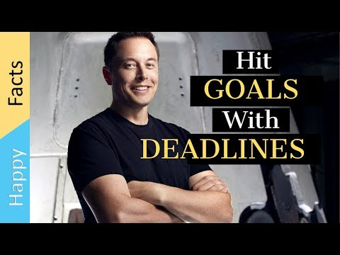 How To Set Realistic Deadlines With Elon Musk (Self Help)