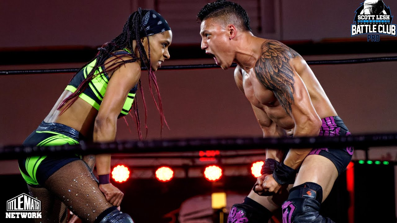 Tasha Steelz vs KC Navarro (Intergender) Battle Club Pro Icons Championship