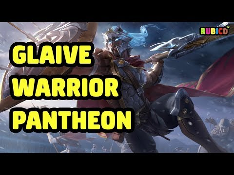 GLAIVE WARRIOR PANTHEON SKIN SPOTLIGHT - LEAGUE OF LEGENDS