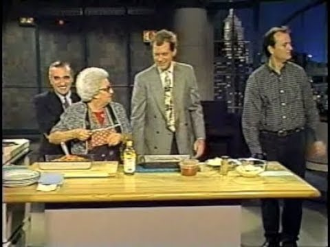 Roy Blount Jr., Bill Murray, Martin & Mom Scorsese on Late Night, Nov. 22, 1991