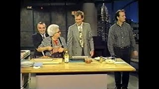Roy Blount Jr., Bill Murray, Martin & Mom Scorsese on Late Night, Nov. 22, 1991