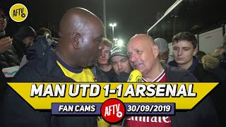 Man United 1-1 Arsenal | We Would Be A Mid Table Team Without Aubameyang!! (Claude)