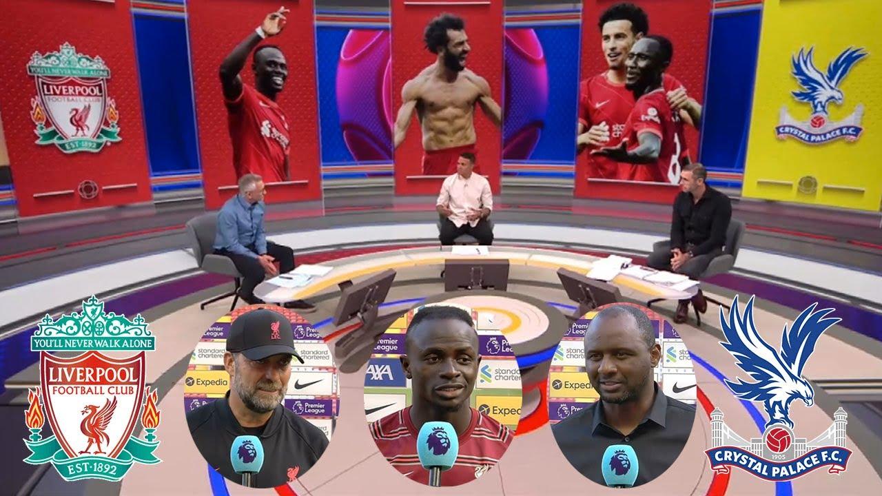 Download MOTD Liverpool vs Crystal Palace 3-0 Jurgen Klopp, Sadio Mane And Patrick Vieira Interview