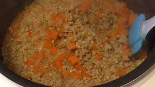 Гречневая рассыпчатая каша с овощами в мультиварке  Рецепт каши