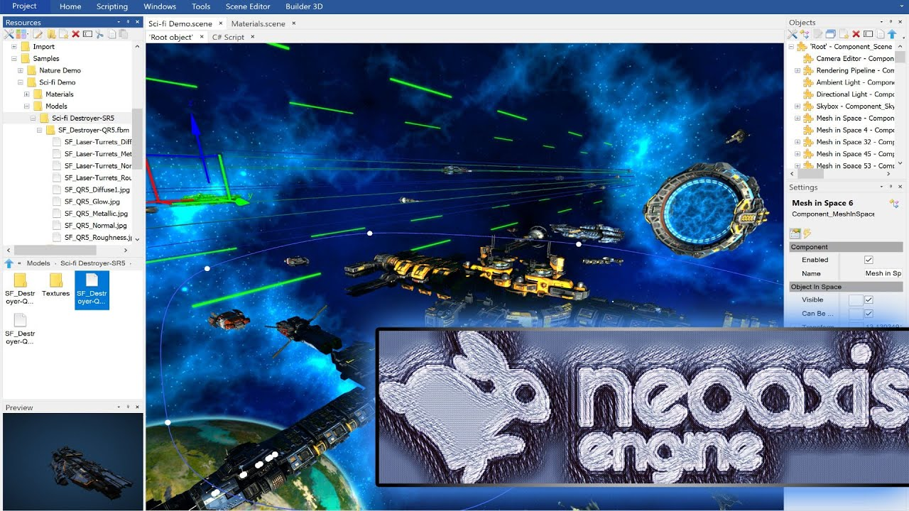 Overview of NeoAxis Engine | NeoAxis Engine