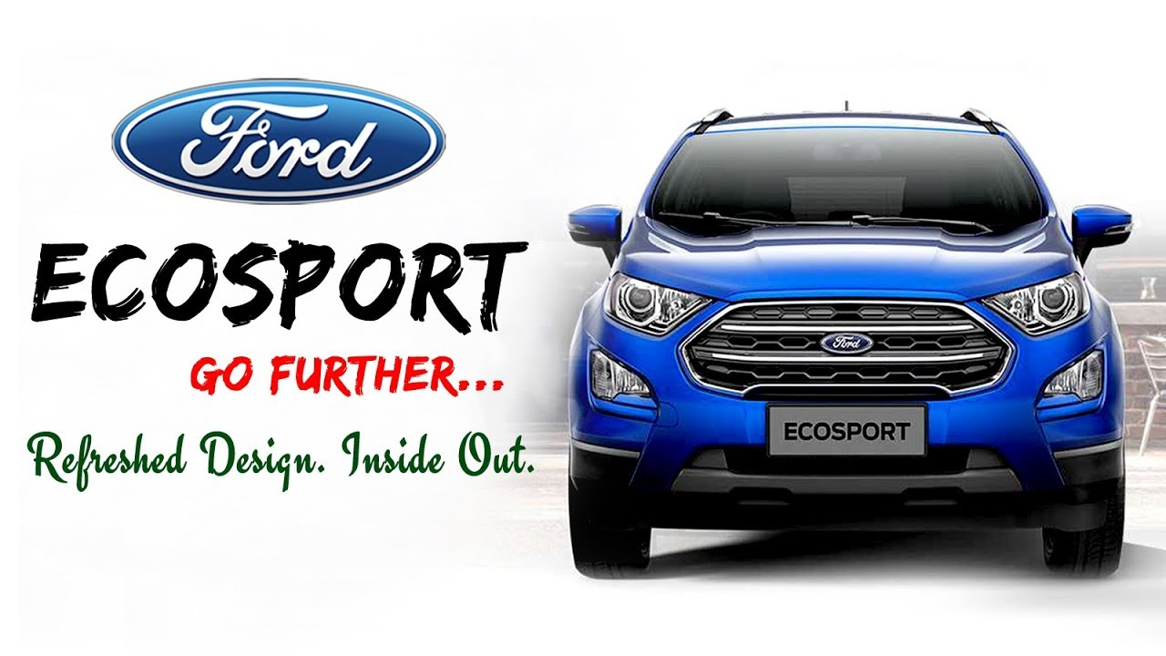 New Ford Ecosport  Price Mileage Features Images And Specifications