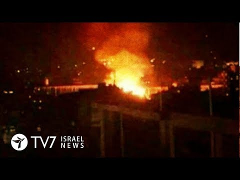 Israel Destroys Iranian Weapons Shipment In Damascus - TV7 Israel News 17.09.18