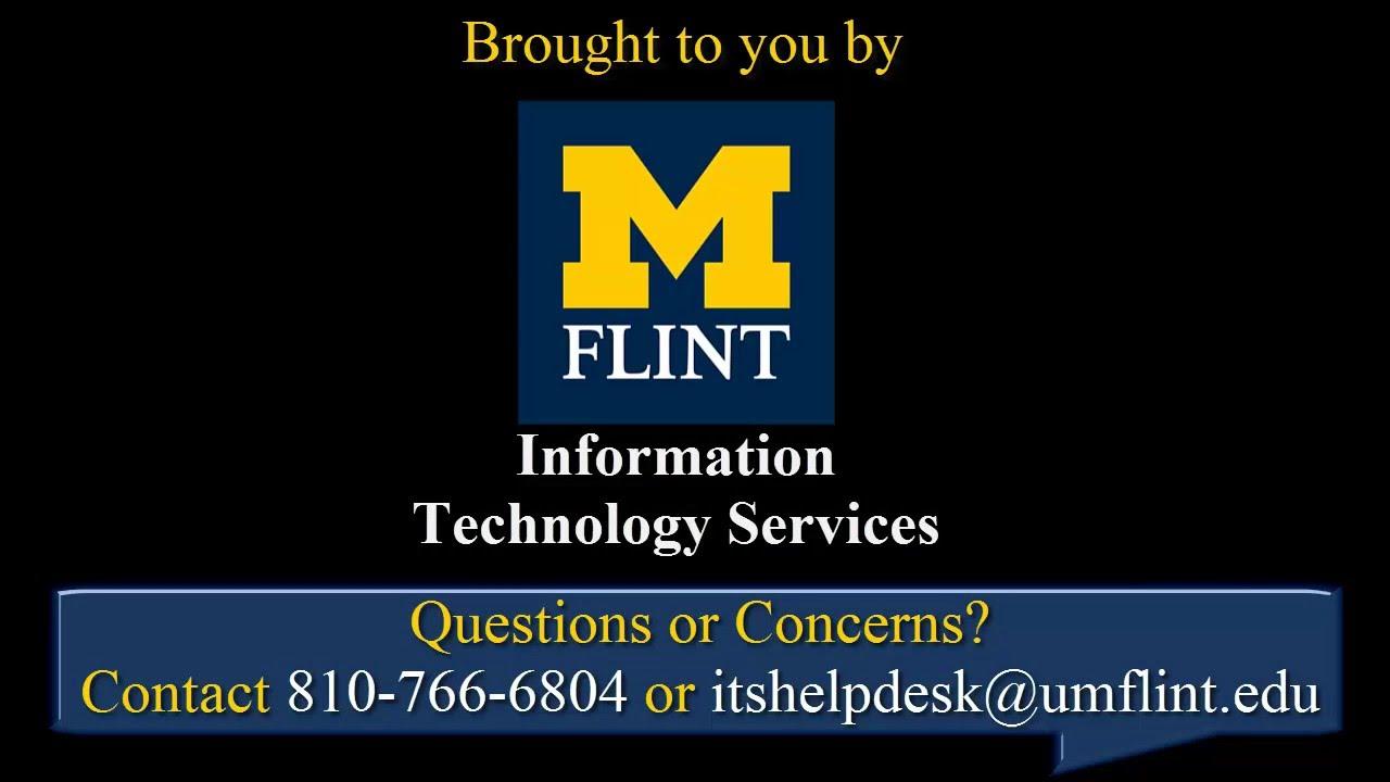 UM-Flint | Using VPN Resources at UM-Flint