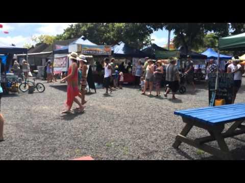 Just a Saturday market in Rarotonga