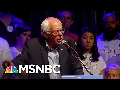 How Can Bernie Sanders Broaden His Appeal?   MSNBC