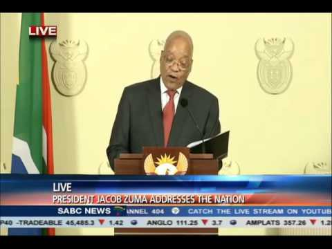 President Jacob Zuma Apology Speech (SPEECH PAUSES REMOVED)