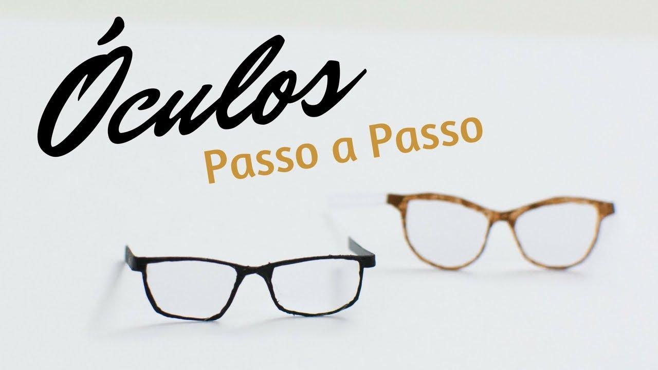 Oculos Para Bonecos De Biscuit Passo A Passo Facil Youtube