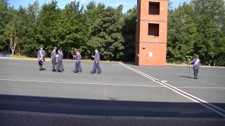 305 Ashford Squadron RAF Air Cadets Full Band Routine 2013