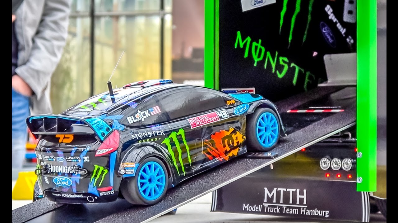 Fantastic KEN BLOCK RC truck with the Hoonigan Ford Fiesta on board! - YouTube & Fantastic KEN BLOCK RC truck with the Hoonigan Ford Fiesta on ... markmcfarlin.com