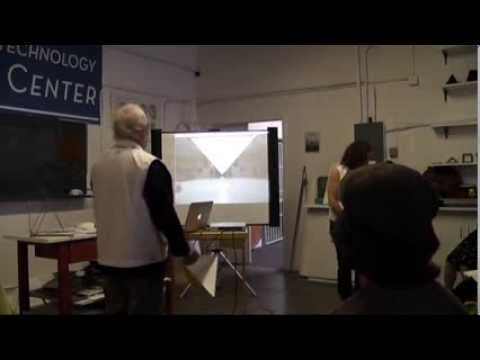 Frank Chester - Pyramids and Pylons - Aug 2013 - NFT Research Center, San Carlos, CA