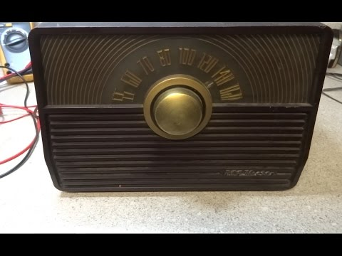 Repairing A 1952 RCA 1X52 Radio With Silver Mica Disease (SMD)