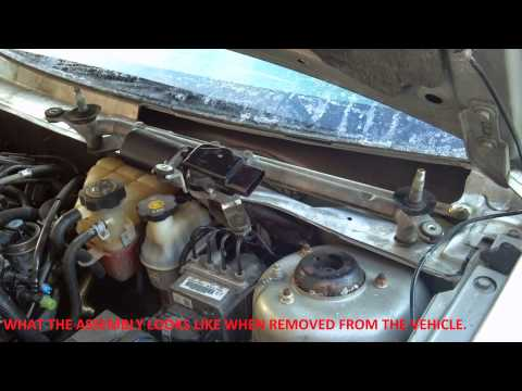2006 Pontiac G6 Windshield Wiper Transmission Fix and other GM cars.