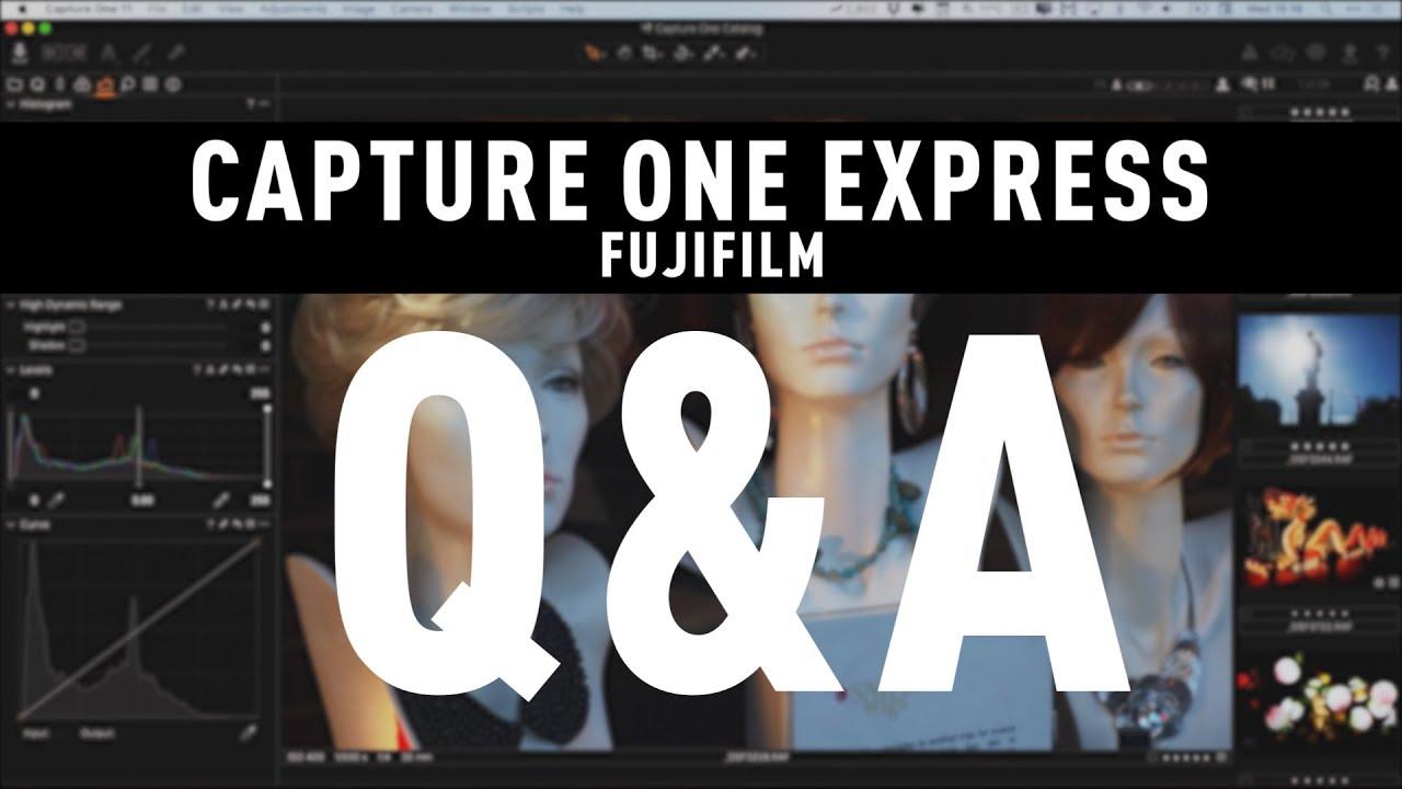 capture one express fujifilm 11.3 free download