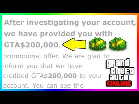 HOW TO GET FREE MONEY IN GTA ONLINE FROM ROCKSTAR & FREE CASH OPPORTUNITIES!!! (IT ACTUALLY WORKED)