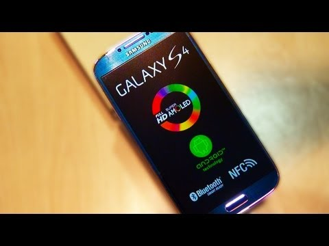 Samsung Galaxy S4 IV BLACK MIST Edition UNBOXING / First Look / Setup