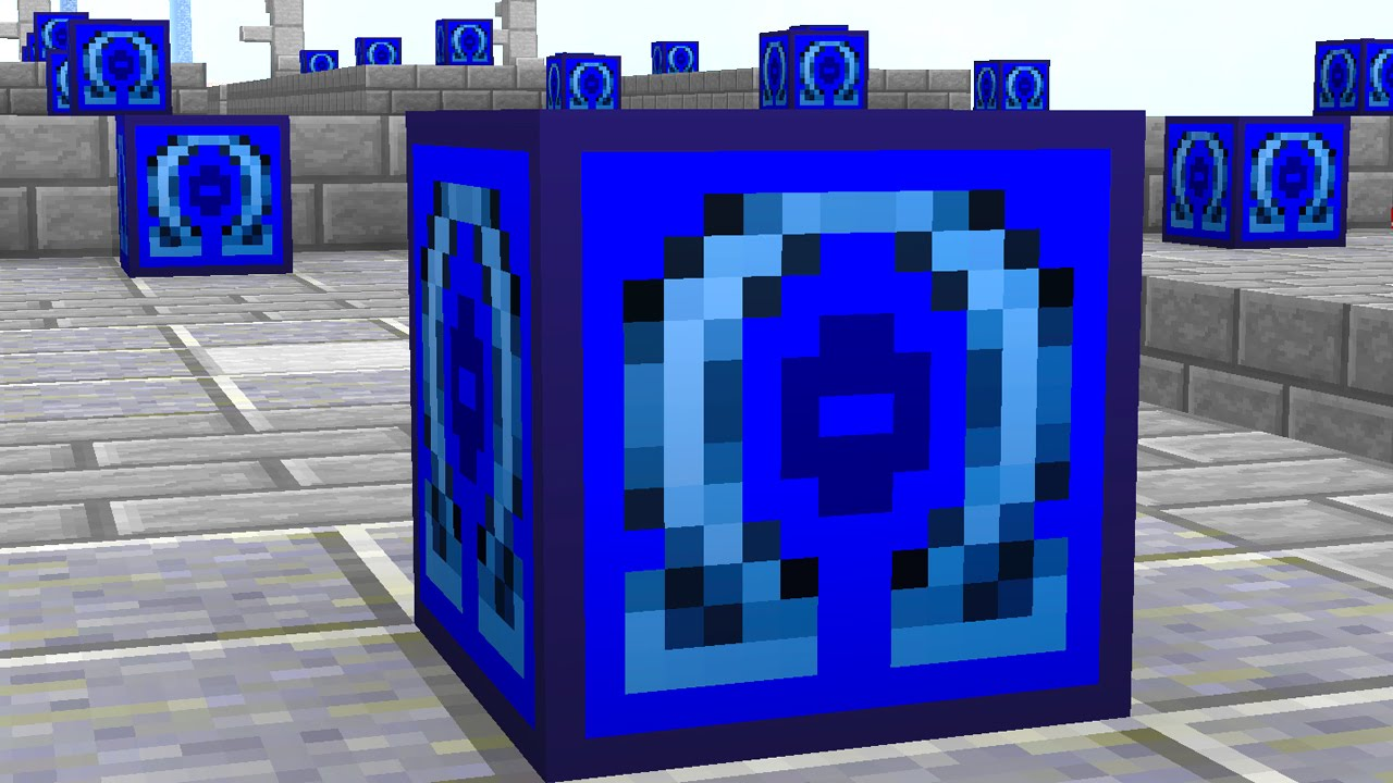 Minecraft 1v1v1v1 NEW OMEGA LUCKY BLOCK RACE! (Minecraft Mods) w/ The Pack