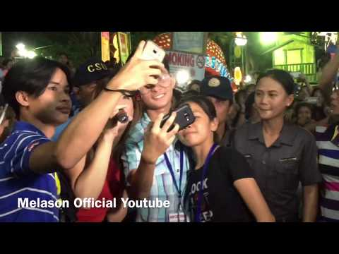 Melai Cantiveros performs in Tinagba Festival of Iriga City