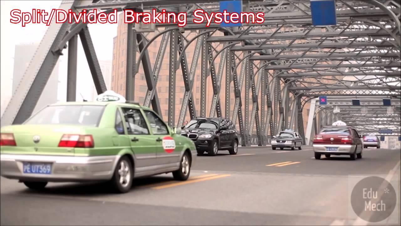 Split Divided Car Braking Systems Explained How It Works