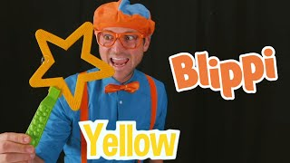 Blowing Bubbles & Learning Colors With Blippi | Learning With Blippi | Educational Videos For Kids