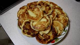 Как приготовить оладушки с припёком [Быстро и вкусно #0]