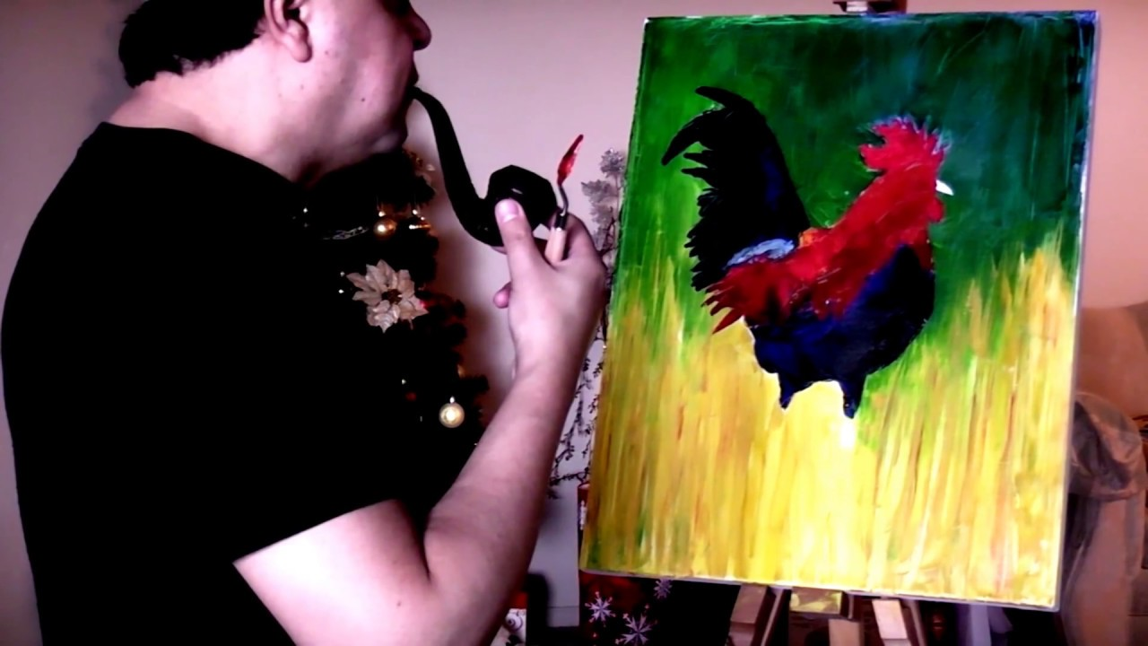 palette knife painting best palette knife painting technique youtube