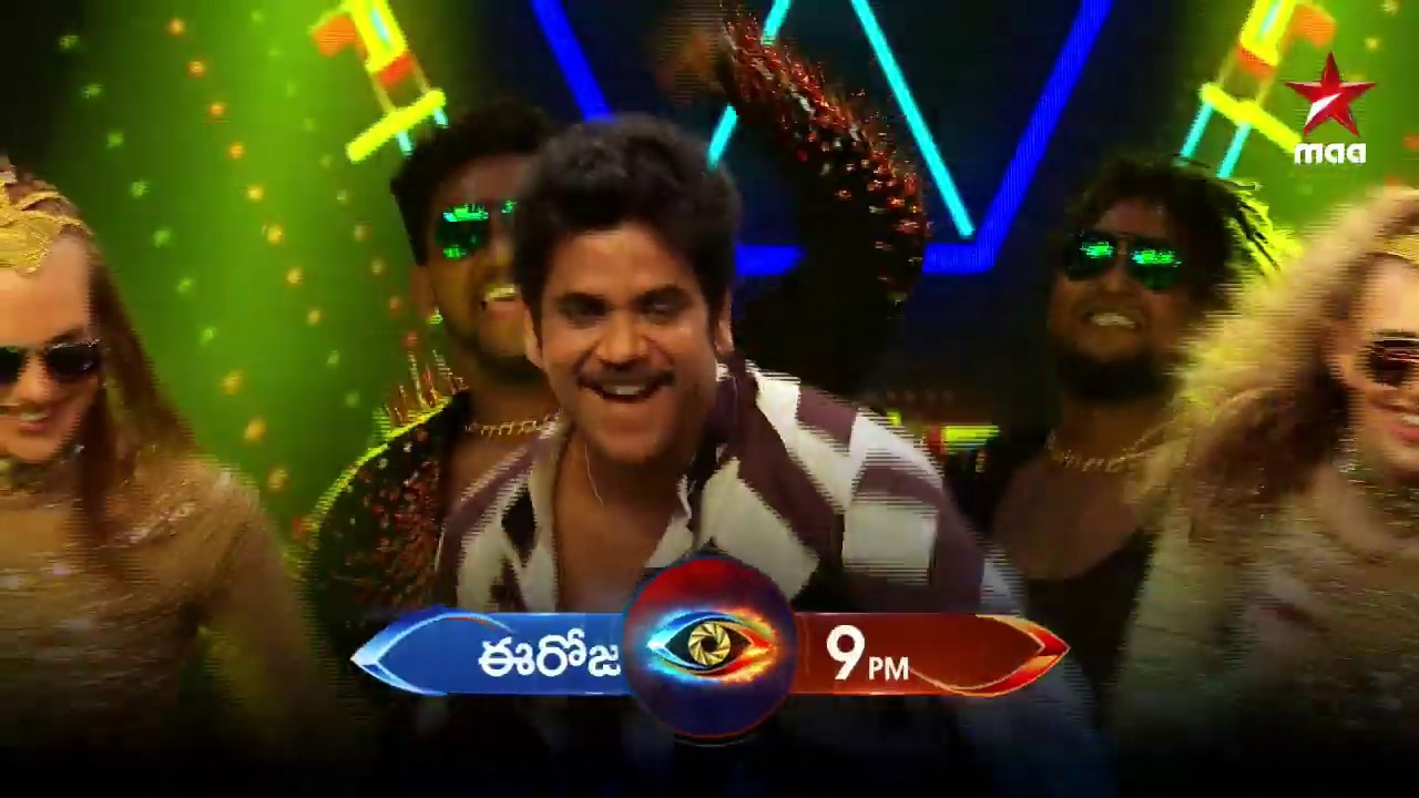 KING Nagarjuna is back to entertain us for the weekend!!! ????????️  #BiggBossTelugu3 Today at 9 PM