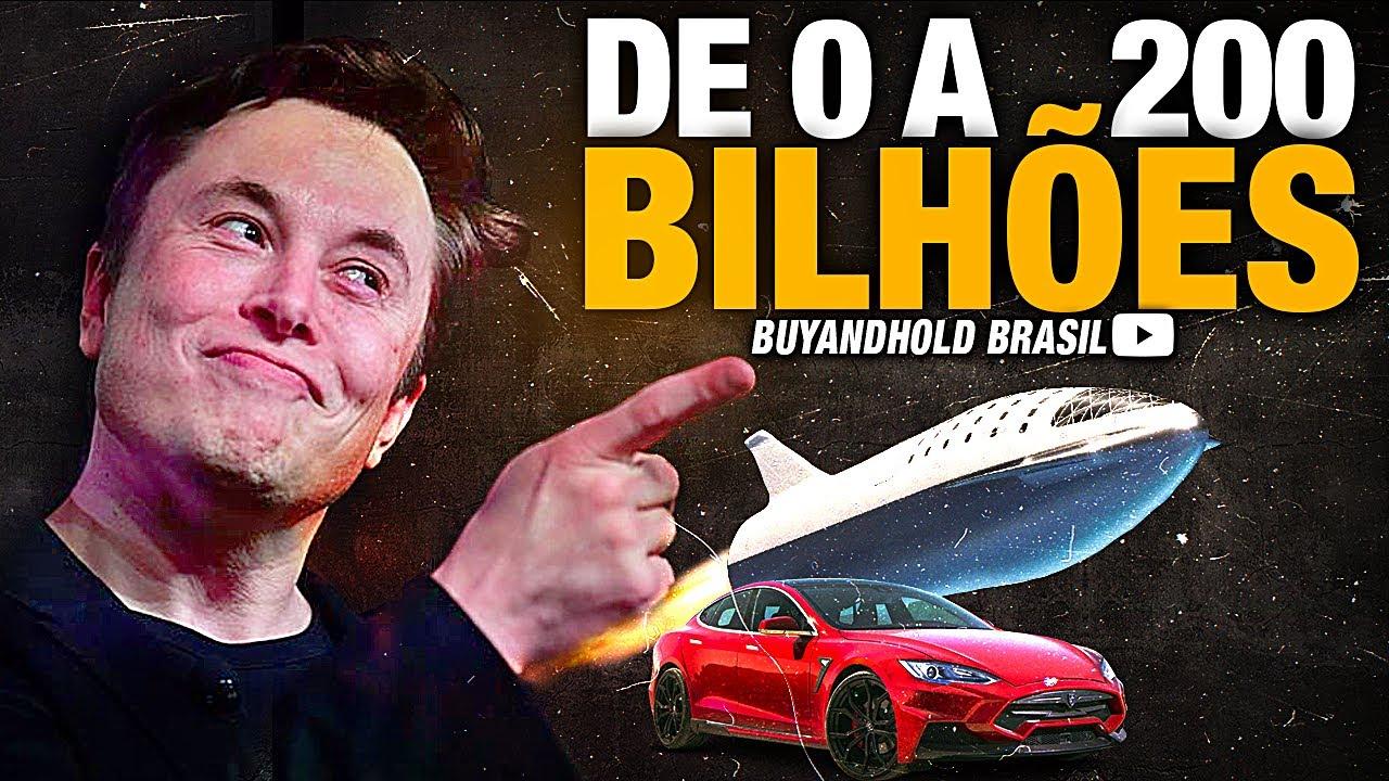 A Incrível História de Elon Musk [De 0 a 200 BILHÕES]!