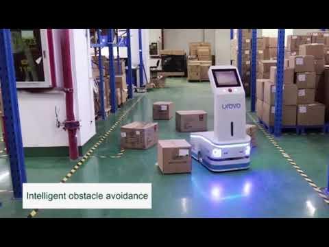 Urovo Logistics Robot for Managing Warehouse