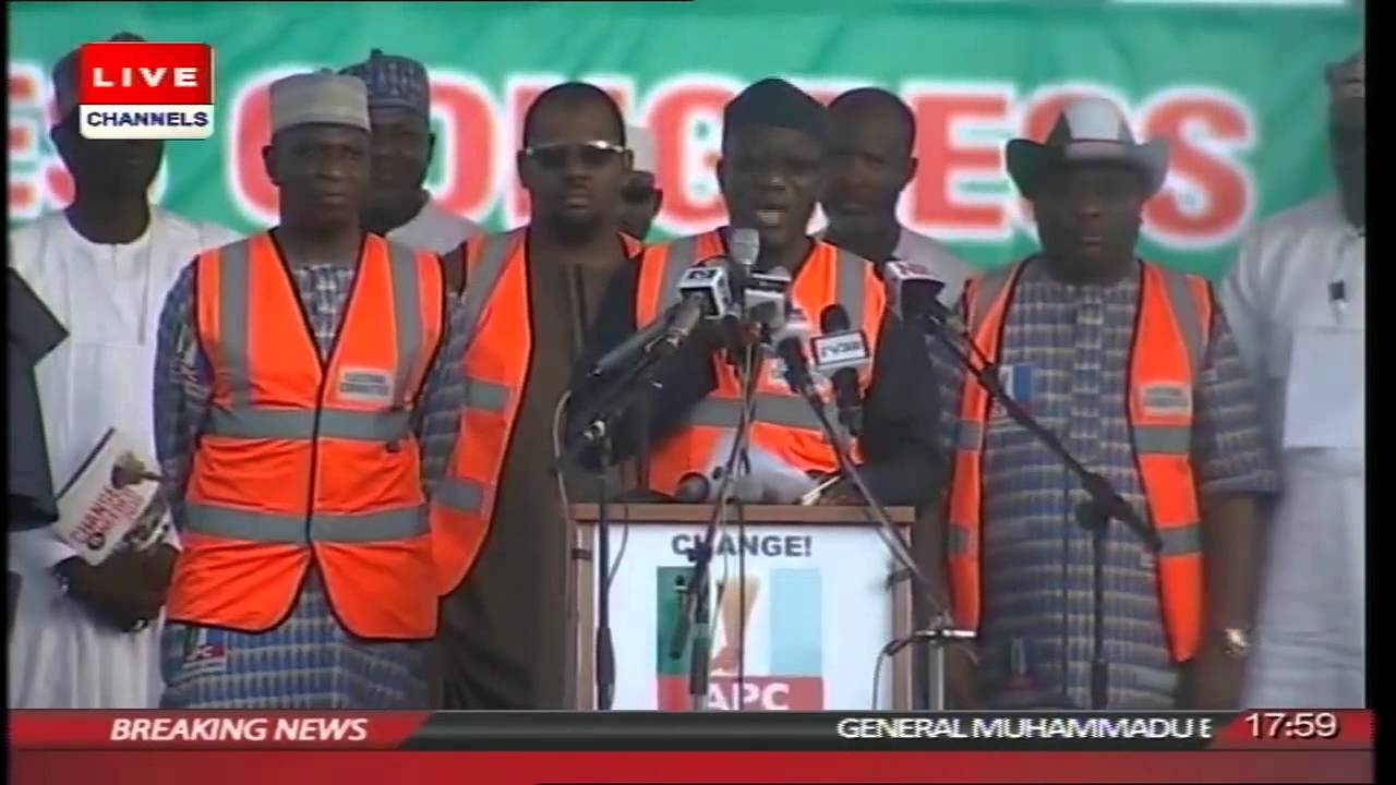 Election 2015: Muhammadu Buhari Wins APC Presidential Ticket