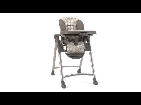 graco contempo high chair replacement cover posture work highchair youtube