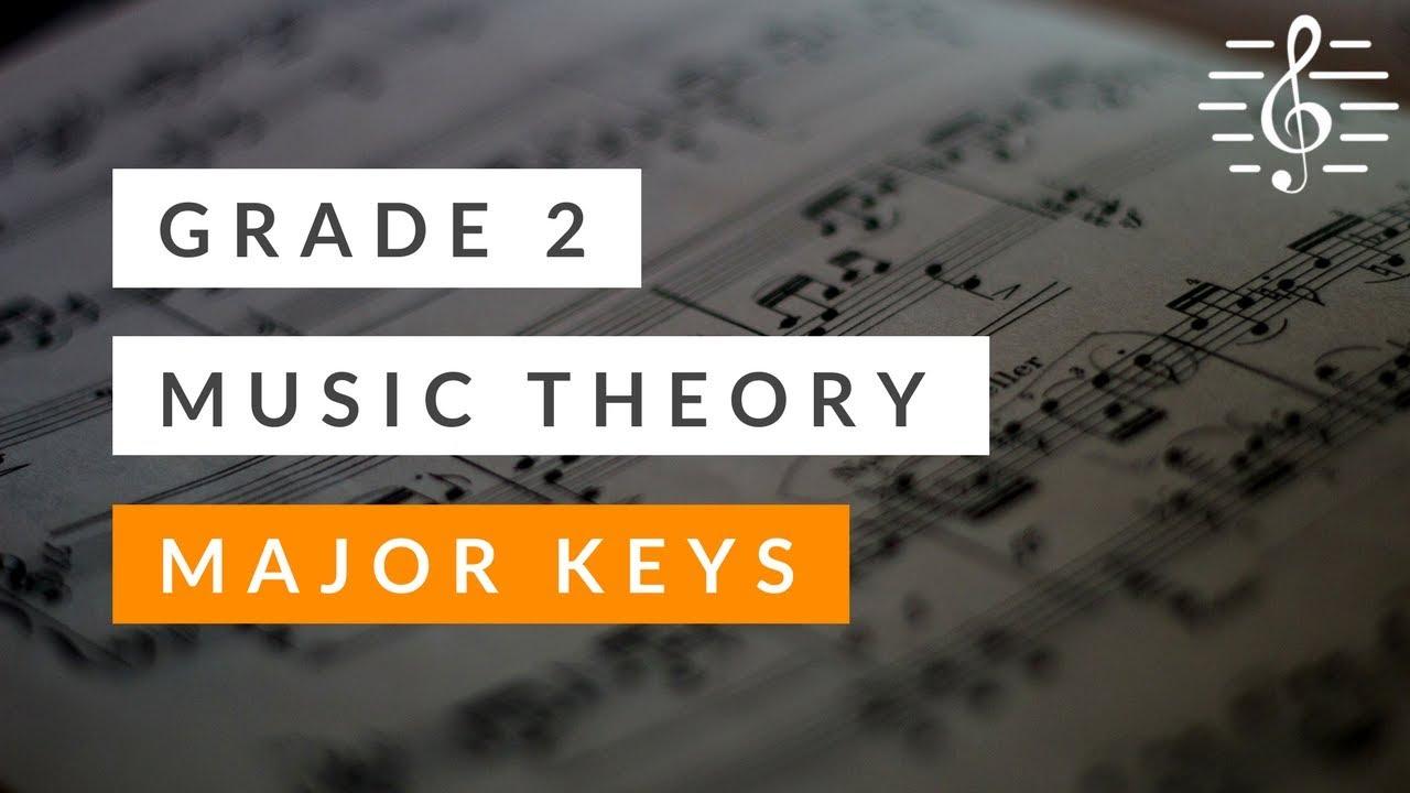 Grade 2 Music Theory - Major Keys & Scales