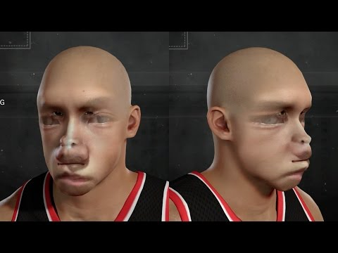 BIGGEST FACE SCAN FAIL EVER!! WHAT IS THIS?!? - NBA 2K17 | PeterMc