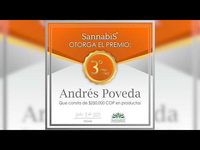 Testimonio Sannabis Andrés Poveda