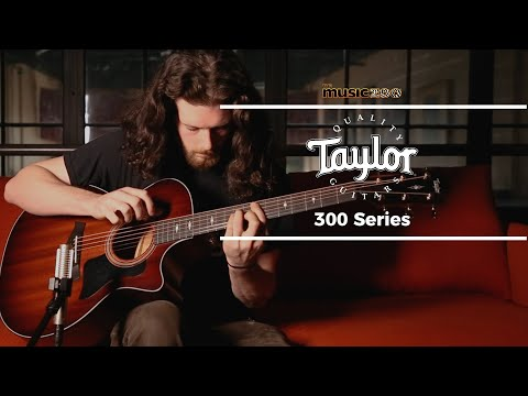 Taylor 300 Series Demo at The Music Zoo