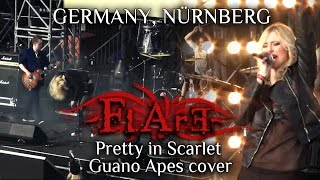 FLARE - Pretty in Scarlet (Guano Apes live cover; Germany, Nurnberg)