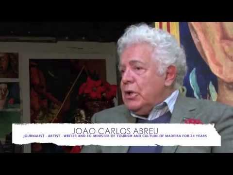 ART IN FUSION TV. INTERVIEW WITH MR. JOAO CARLOS ABREU EX MINISTER OF TOURISM AND CULTURE MADEIRA