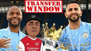 Arsenal Plot Double Swoop For Raheem Sterling And Riyad Mahrez   Allan Saint-Maximin Interest?