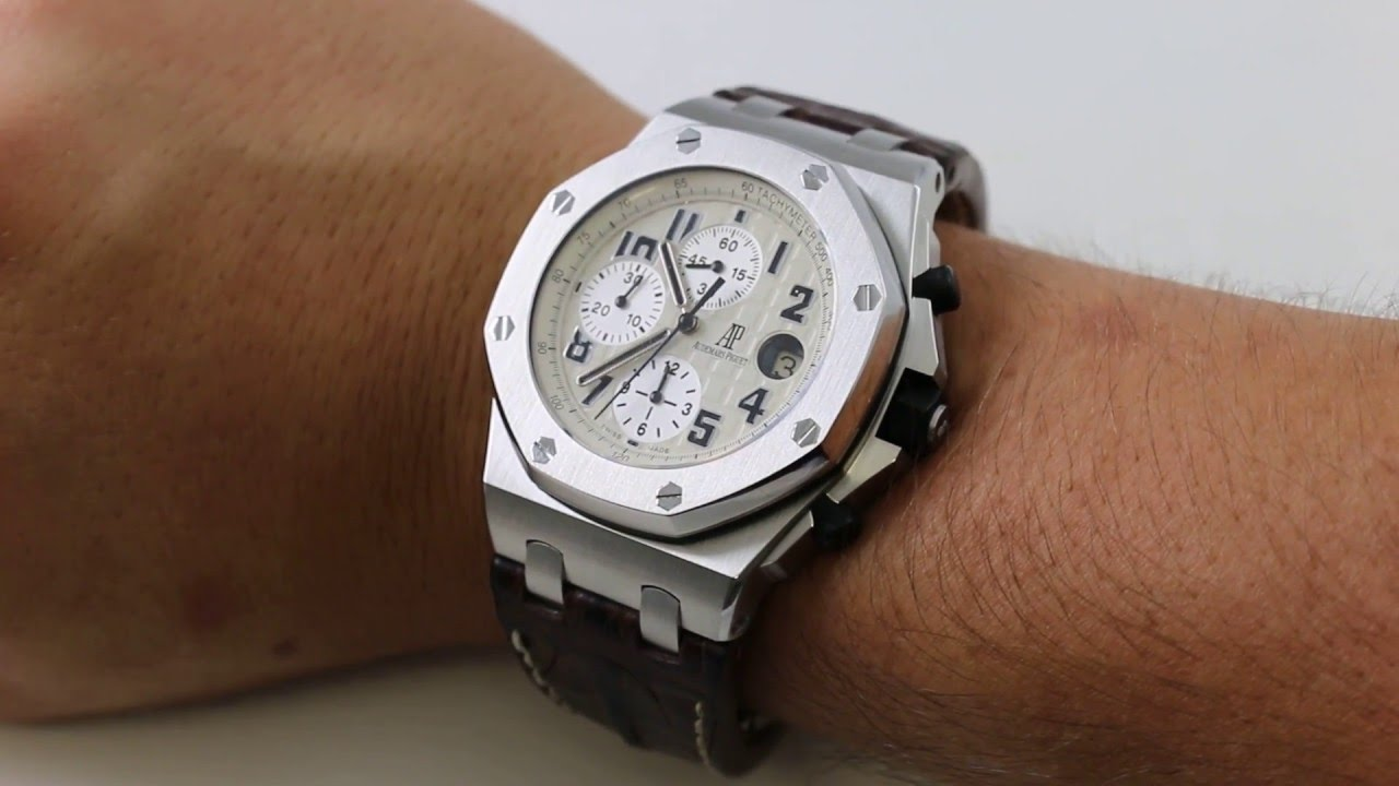 Sales Shorts Audemars Piguet Royal Oak Offshore Safari With Nikolas Maldonado
