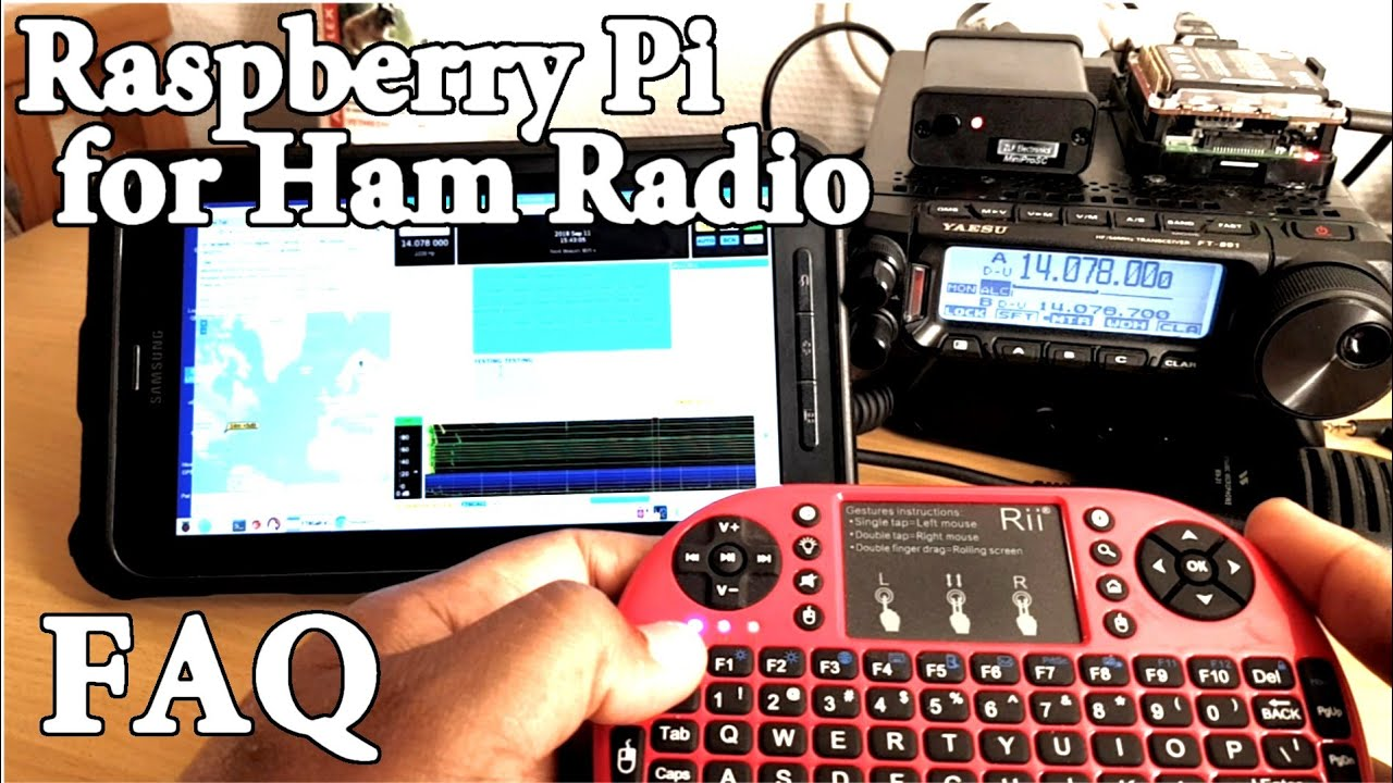 Raspberry Pi for Ham Radio – X days Off Grid – OH8STN
