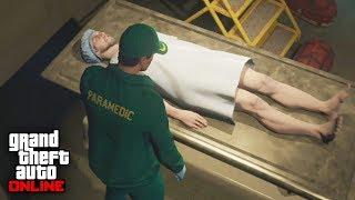 ROBANDO UN CUERPO HUMANO - Doomsday Heist DLC (Dia del Juicio Final) - GTA V ONLINE (GTA 5)